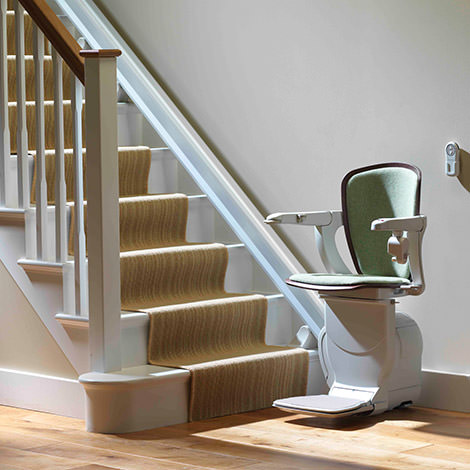 Lifta stairlift for straight stairs