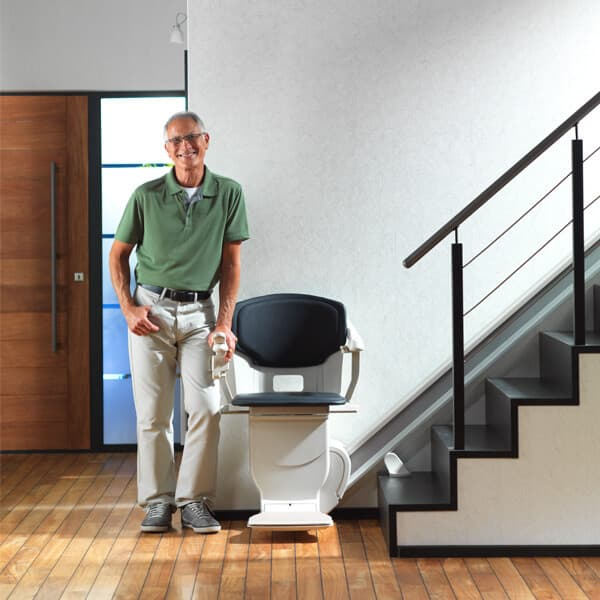 Man with Lifta Stairlift